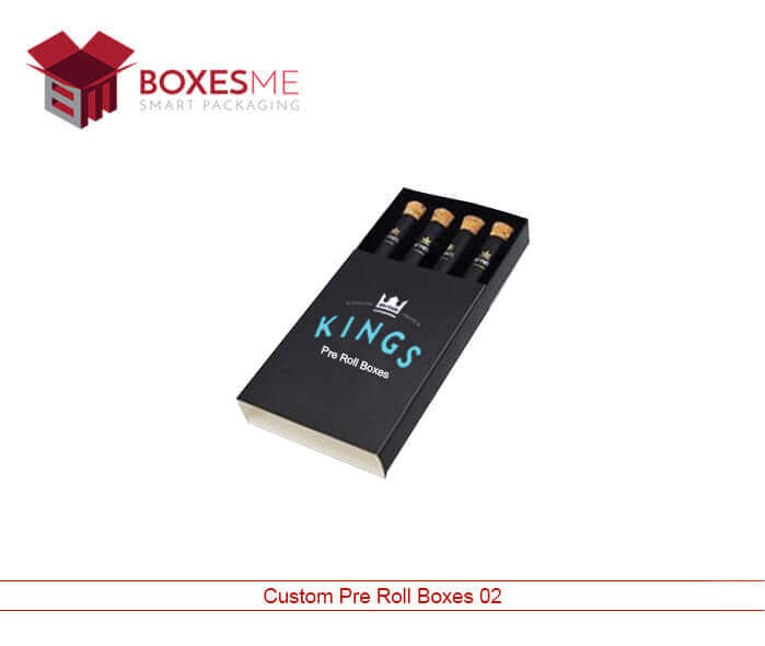 Get Your Printed Cardboard Pre-Roll Packaging from us
