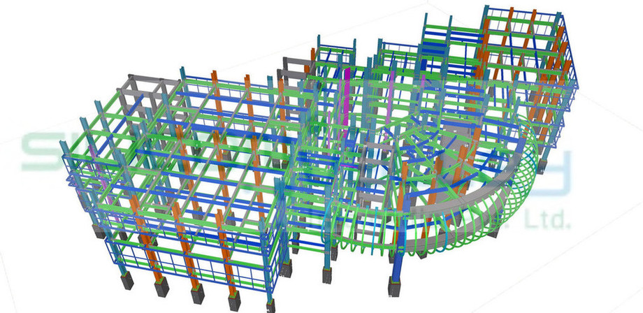Structural Steel Fabrication Drawing Services - Silicon Info