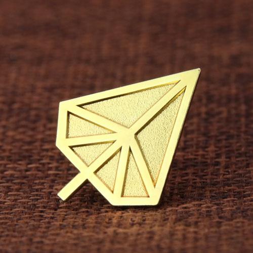 Gold Tree Lapel Pins