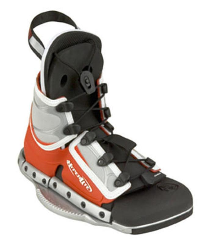 HYPERLITE SPIN WAKEBOARD BINDINGS OPEN TOE KIDS YOUTH SIZE