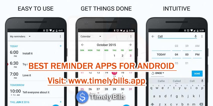 Best Bill Reminder Apps For Android - Timelibills.app