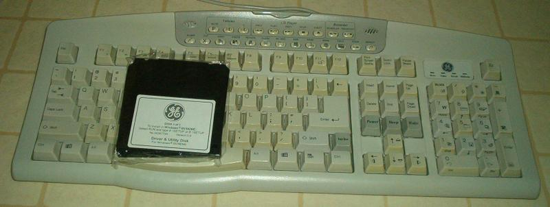 GE MULTIMEDIA KEYBOARD - $20