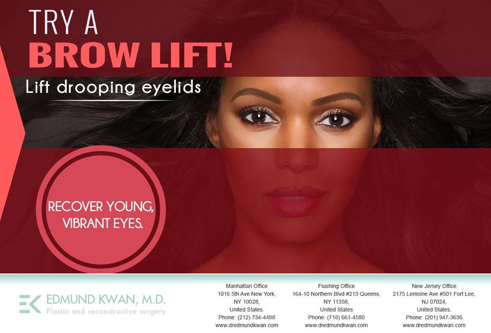 Dr. Edmund Kwan - Recommended Local Brow Lift NYC - 10028