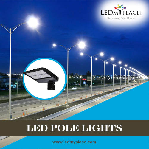 LED Pole Light for Street Light and Parking Lot Lights