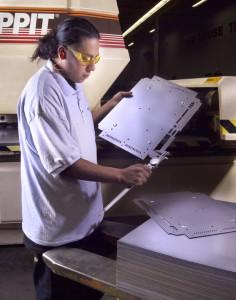 Automated CNC Sheet Metal Punching Service