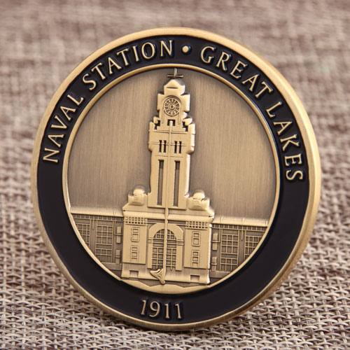 Naval Station Challenge Coins
