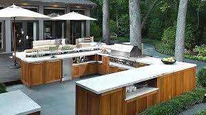 Make your Outdoor kitchen more beautiful in minimum cost