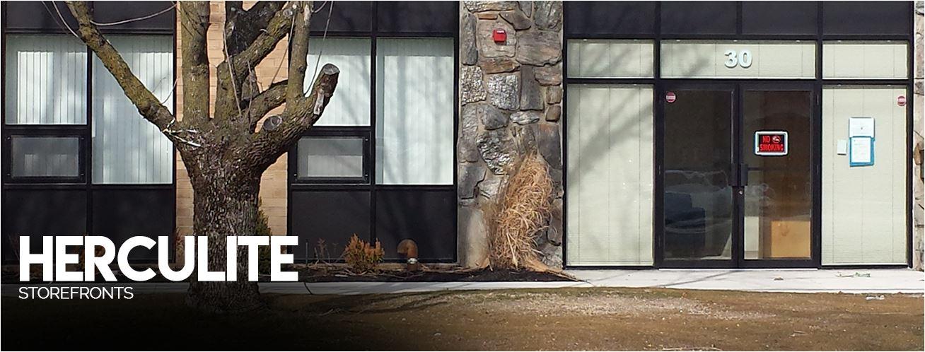 Herculite Doors | Storefront Glass and Metal