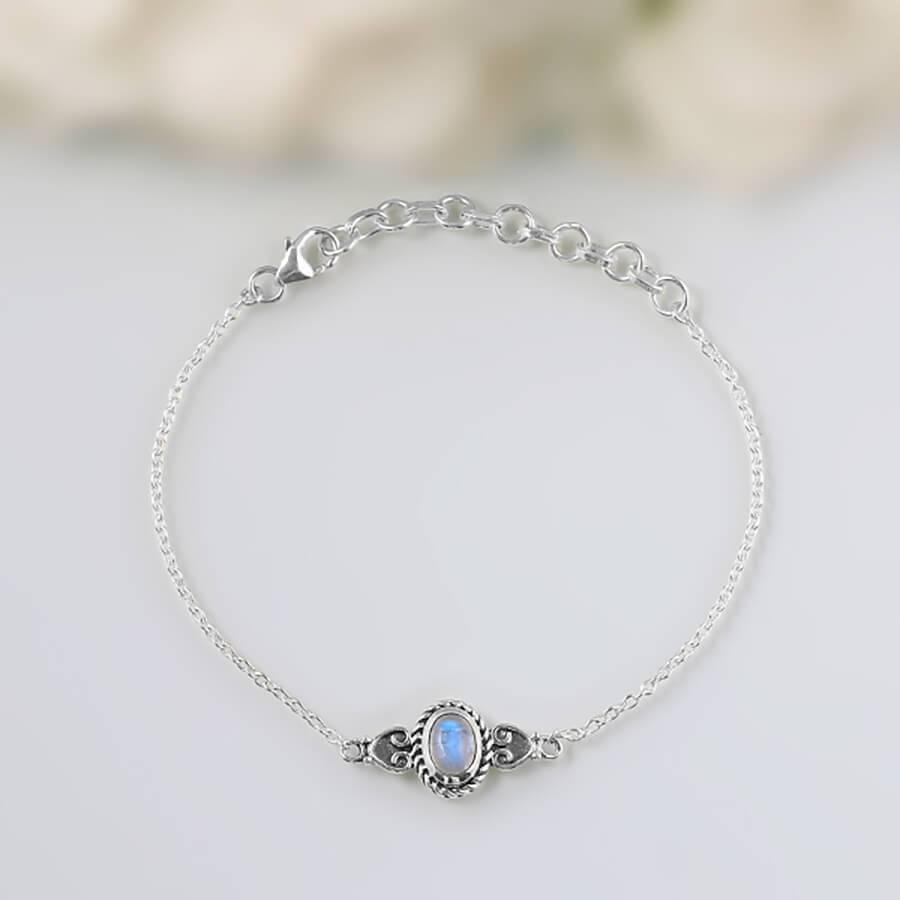 Moonstone Bracelet-Dandy Trinket