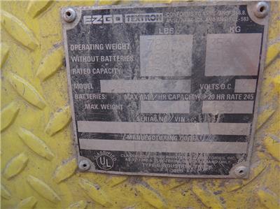 E-Z-GO ELECTRIC CART