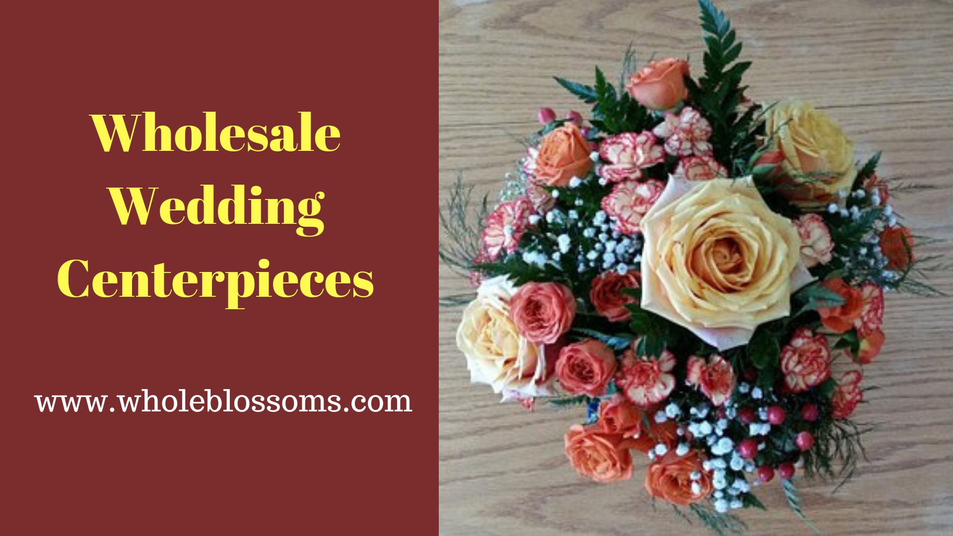 Purchase Affordable Wedding Centerpieces in Your Budget