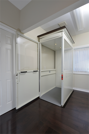 Savaria Telecab home elevator - Stairbuster