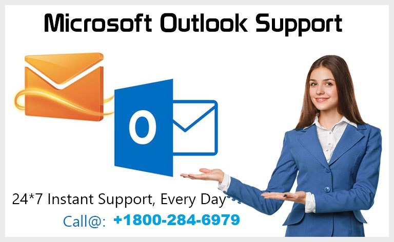 Outlook Technical Support Number USA 1800-284-6979