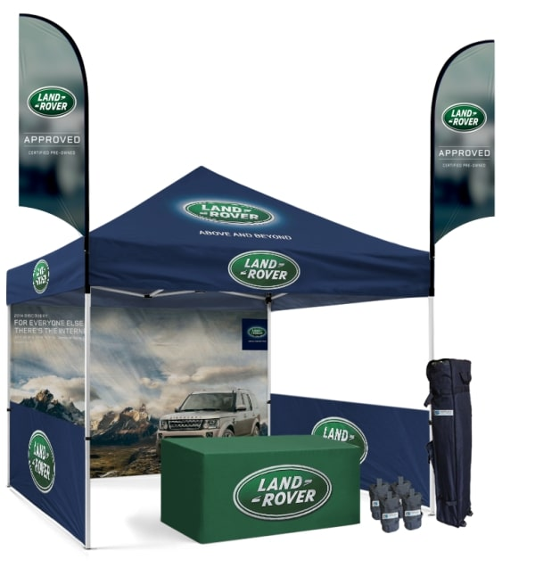 Make an Impact At Trade Shows With Advertising Canopy Tents |USA