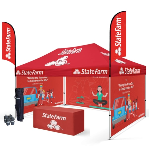 Custom Canopy Tents With Unlimited Color Printing @ Starline Tents