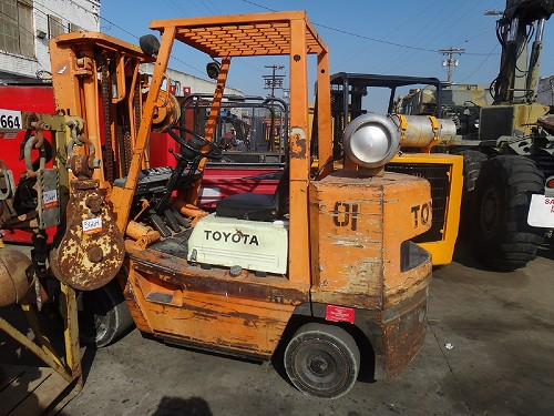 TOYOTA FGC-35 7,000LBS FORKLIFT