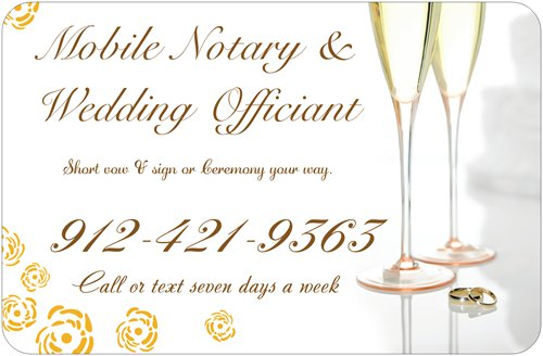 Mobile Notary & Wedding Officiant
