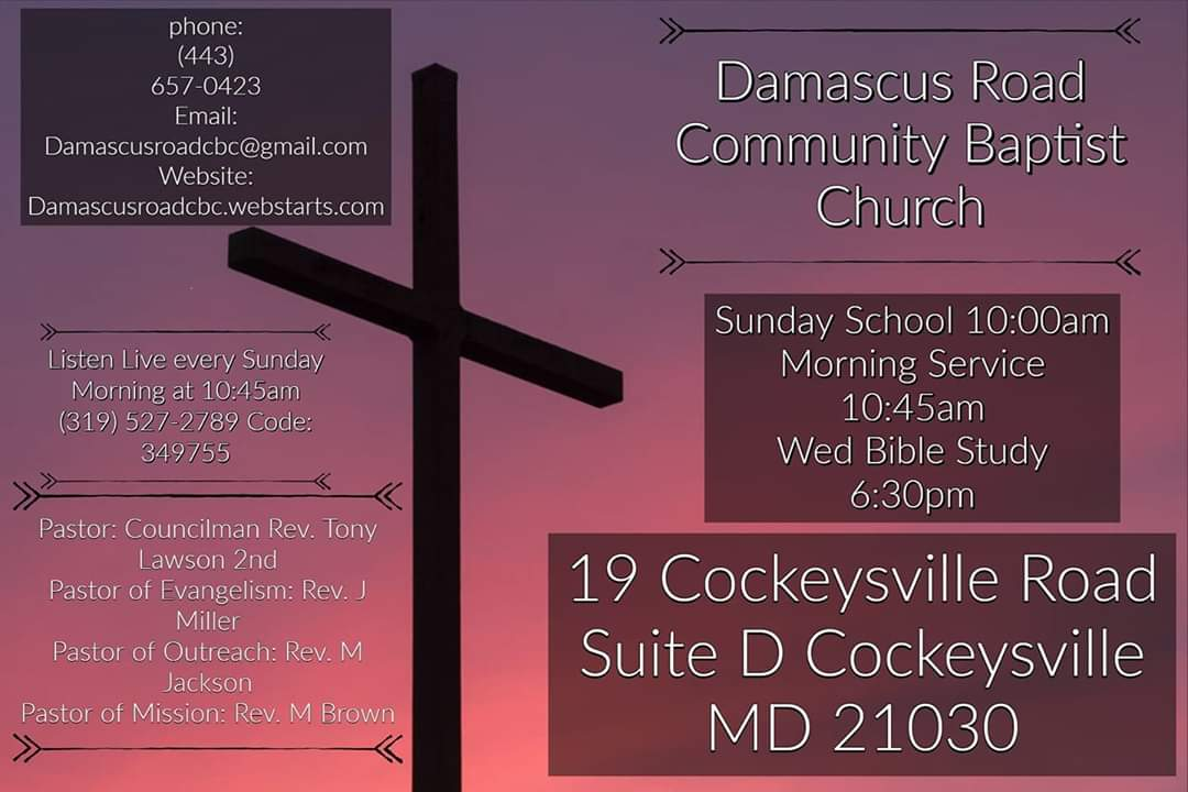 Damascus Road Community Baptist Church