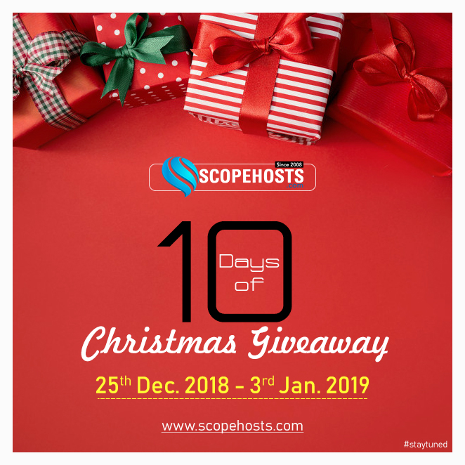 contact us and win free wordpress hosting