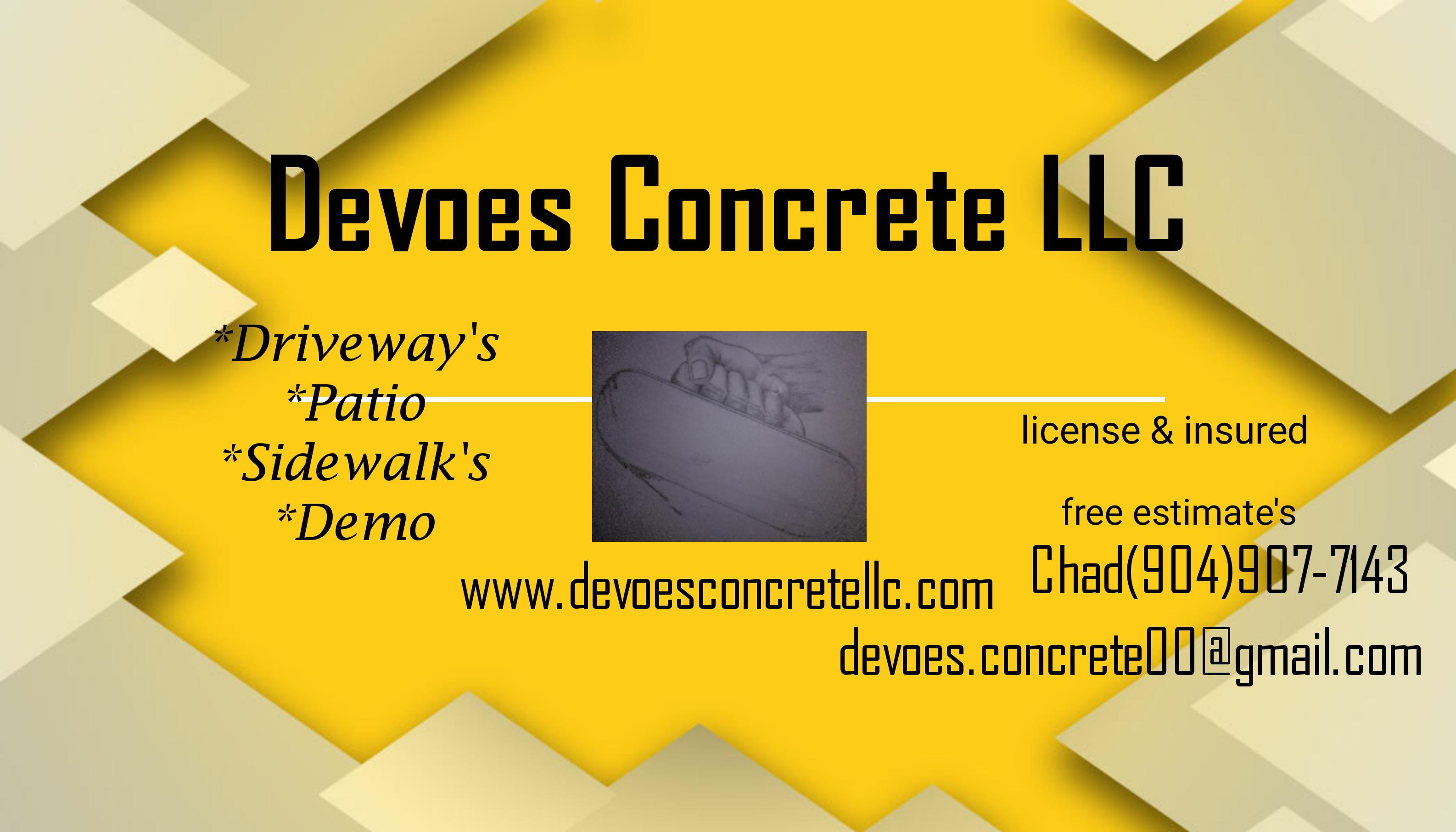 Devoes Concrete LLC