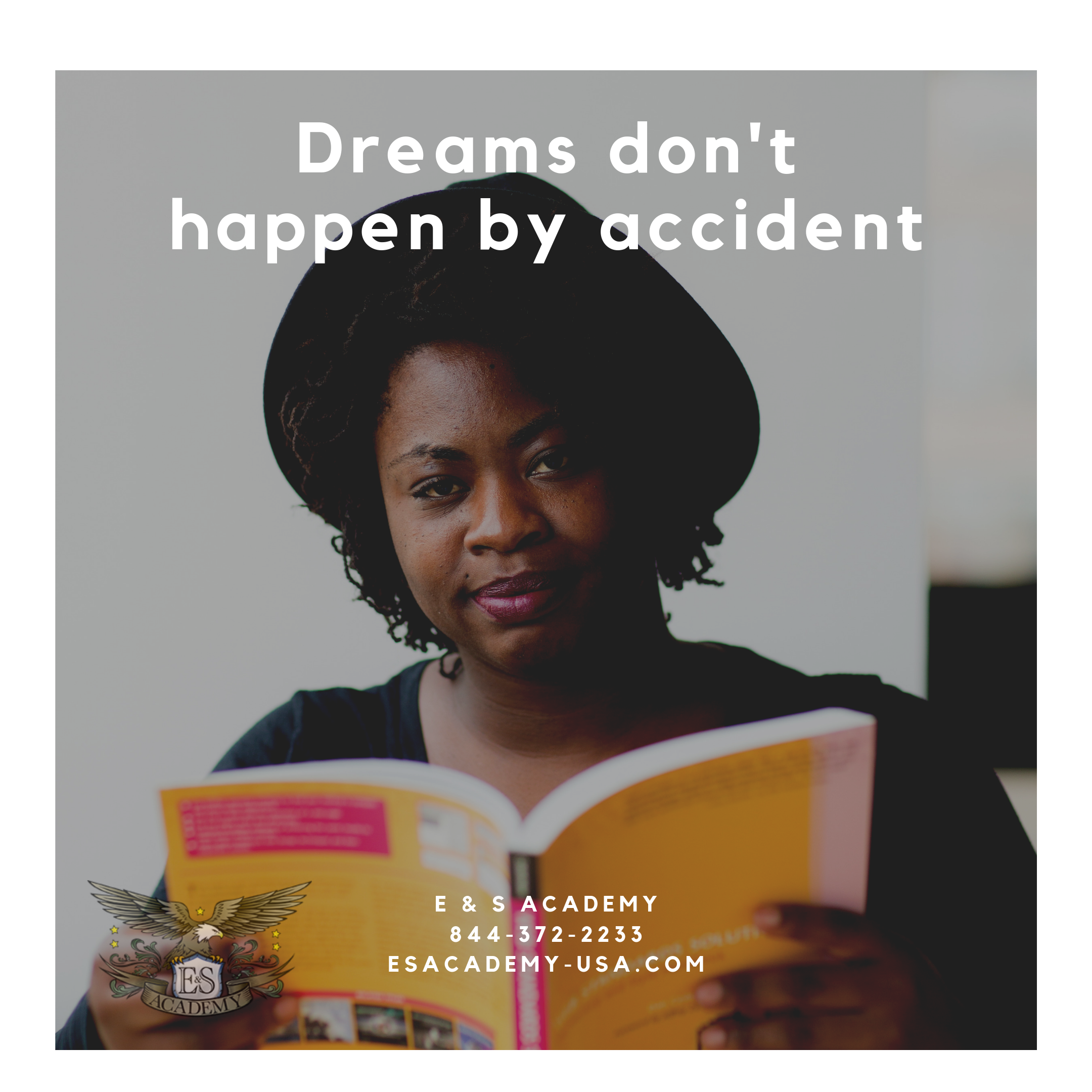 Dream's don't happen by accident! Are you looking for a new career?