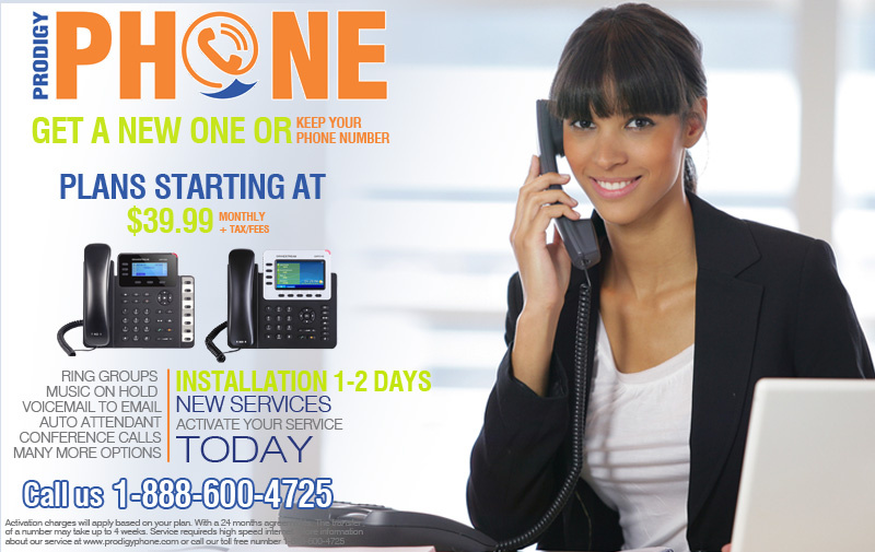 Telephone system for companies or businesses