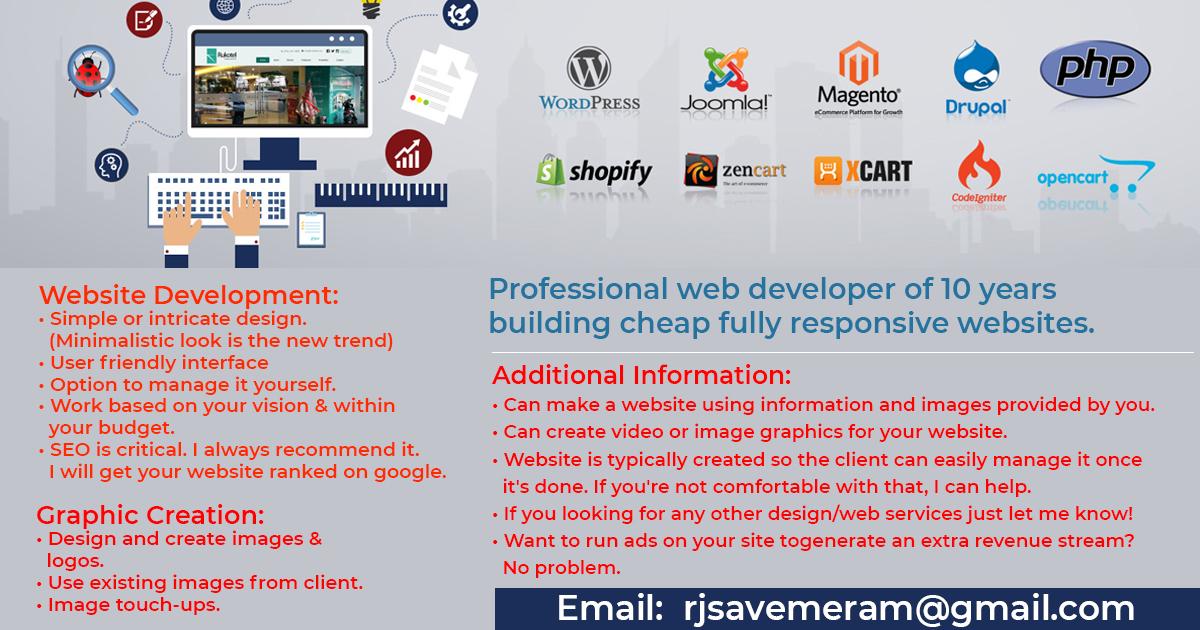 Website Design | SEO | Website Development | Graphic Design |Marketing