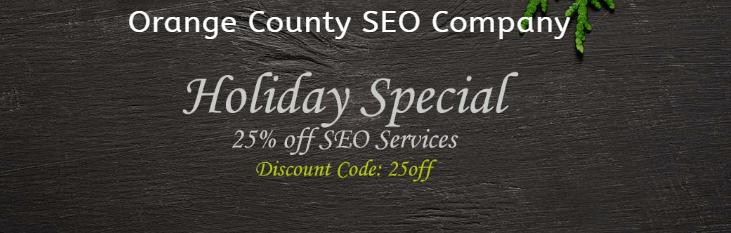 25% Off SEO Services - Orange County SEO Company