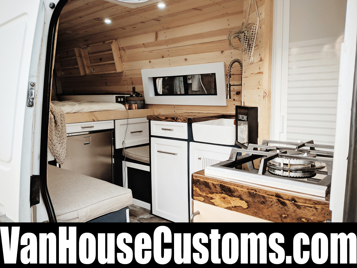 New 2019 Sprinter Van Camper Conversion | 100% Off-Grid Tiny Home