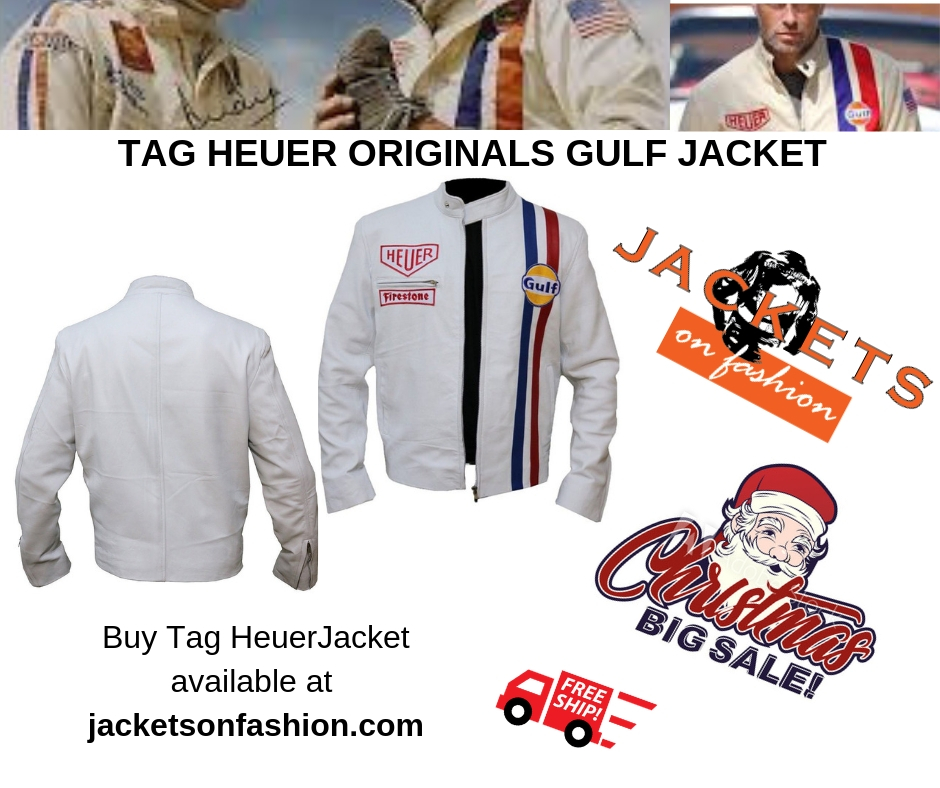 TAG HEUER ORIGINALS GULF JACKET