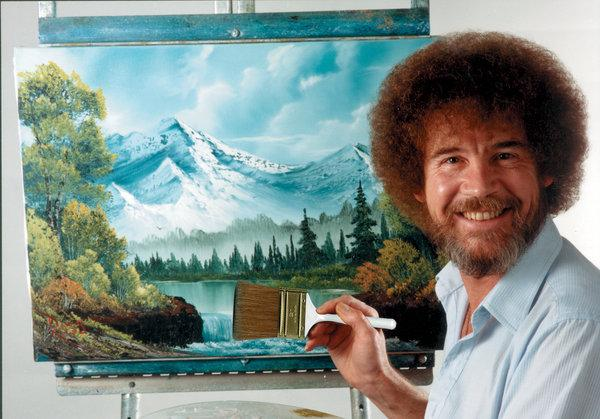 BOB ROSS PAINT NIGHT/WORKSHOPS FOR ADULTS AND CHILDREN