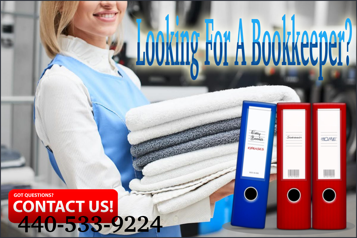 Looking For A Bookkeeper For Laundry Business?