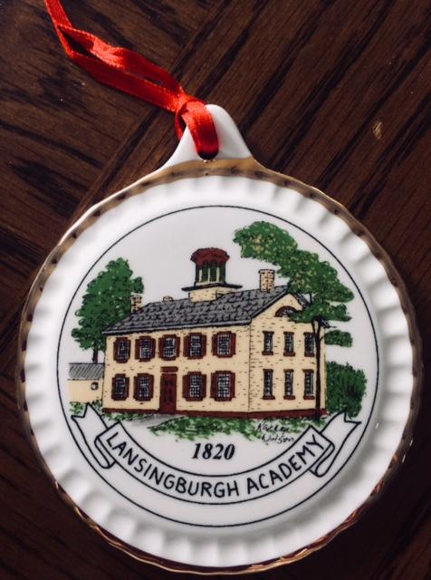 Lansingburgh Historical Society's  Lansingburgh Academy/Lansingburgh Library Historic Ornament