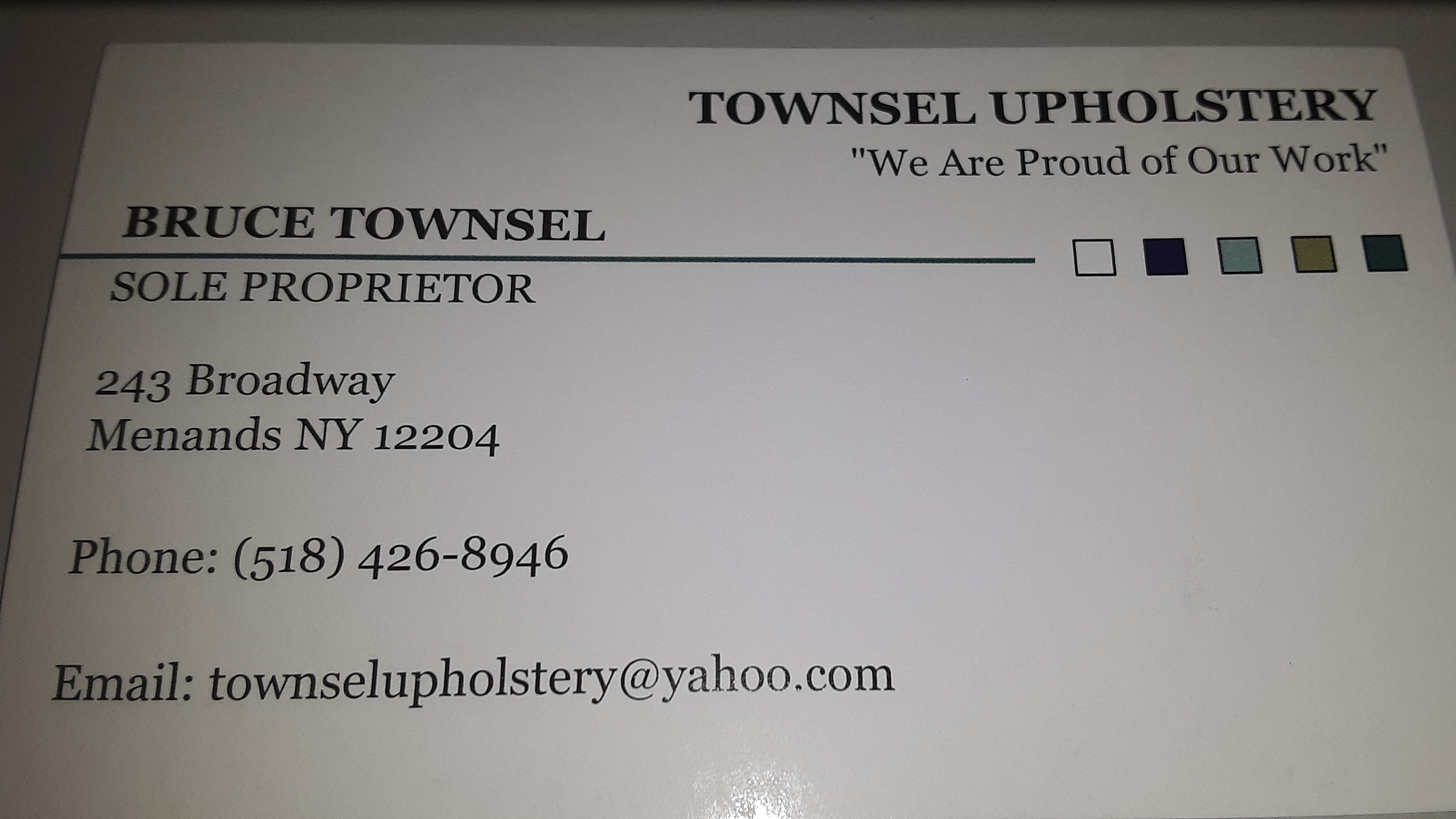 Townsel Upholstery