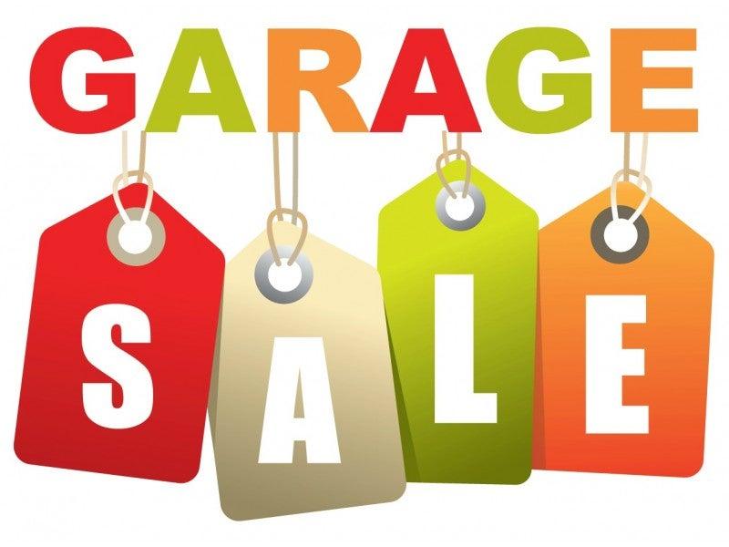GARAGE SALE TODAY Sunday, June 2