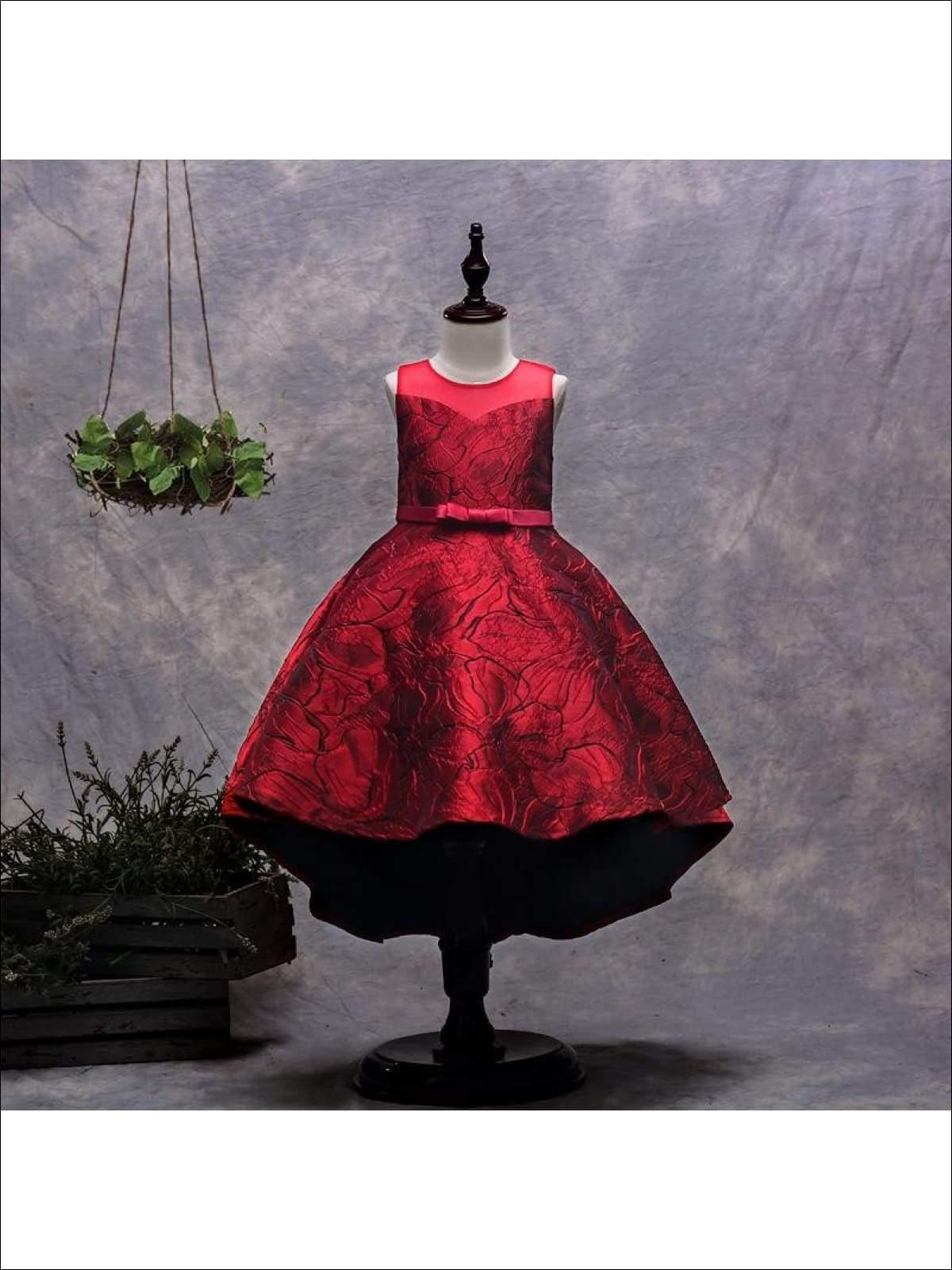 Buy Designer Hi-Lo Holiday Dress for Girls