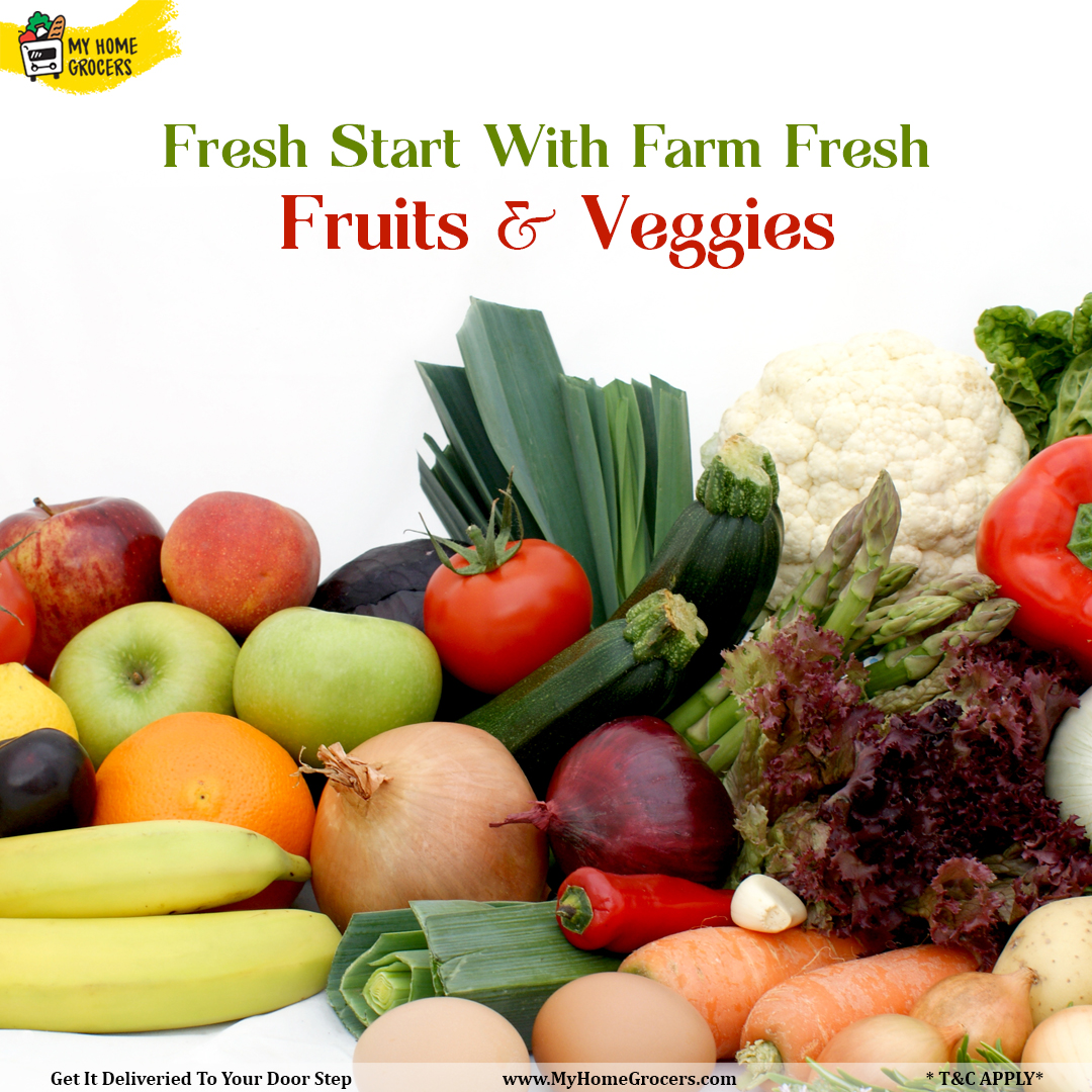 Fresh Start With Farm Fresh Fruits & Veggies Online Euless,Texas - MyHomeGrocers