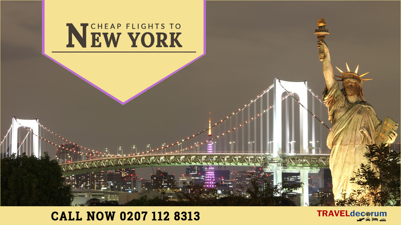 Flights London New York & cheap tickets London New York