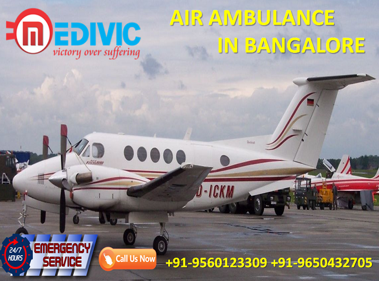 Get World-Class and Revolutionary Air Ambulance in Bangalore by Medivic