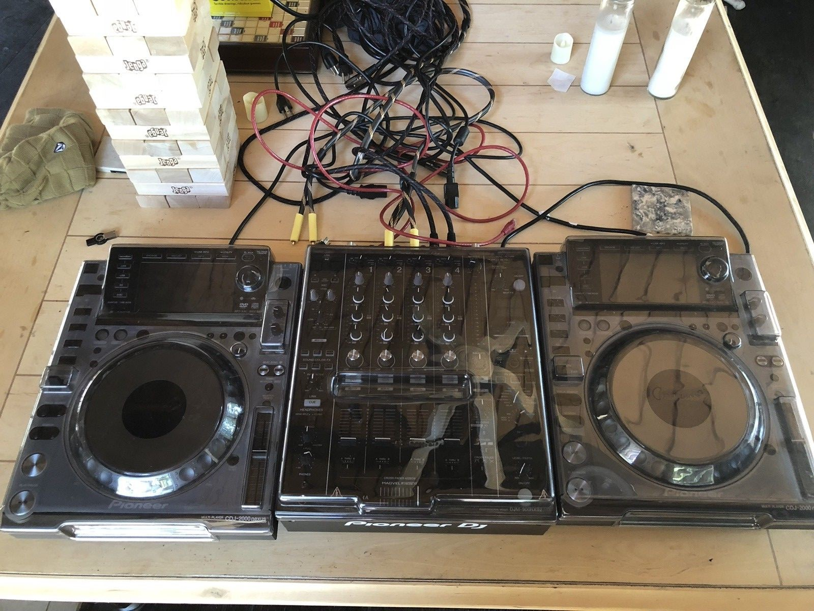 Sale new  2X Pioneer CDJ-2000NXS2 and DJM-2000NXS2 mixer package