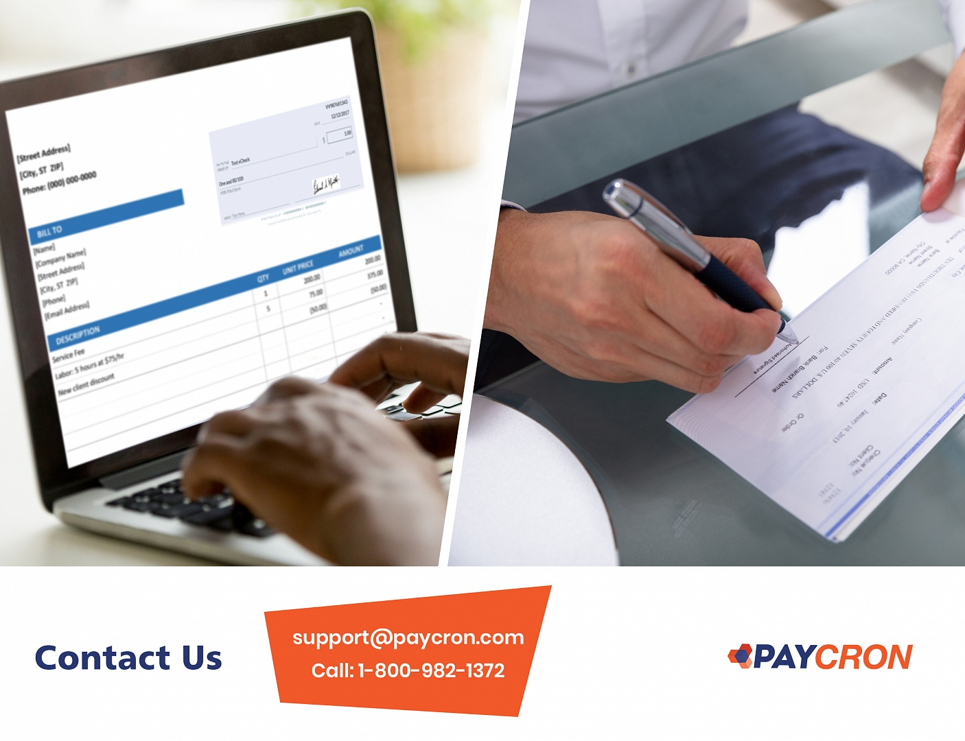 Avoid Old Check Payment Processing