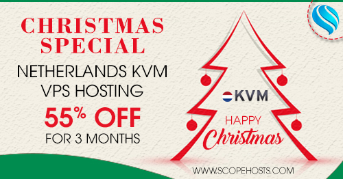 XMAS Special Deals on KVM vps hosting