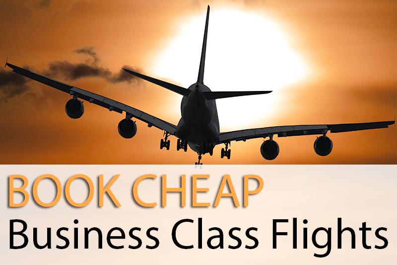 Book Cheap Flights to Business Class Flight Deals | Discounted Airline Tickets