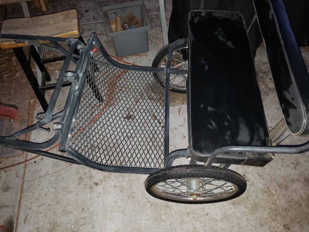 Pony/mini easy entry cart