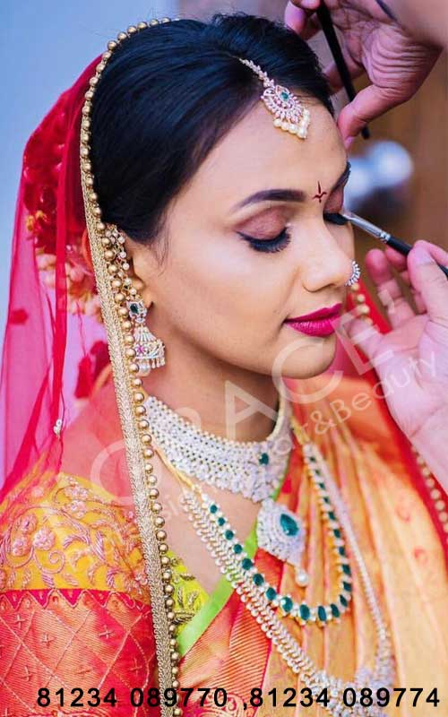Bridal makeup artist in Hyderabad with price |Makeup artists in Hyderabad