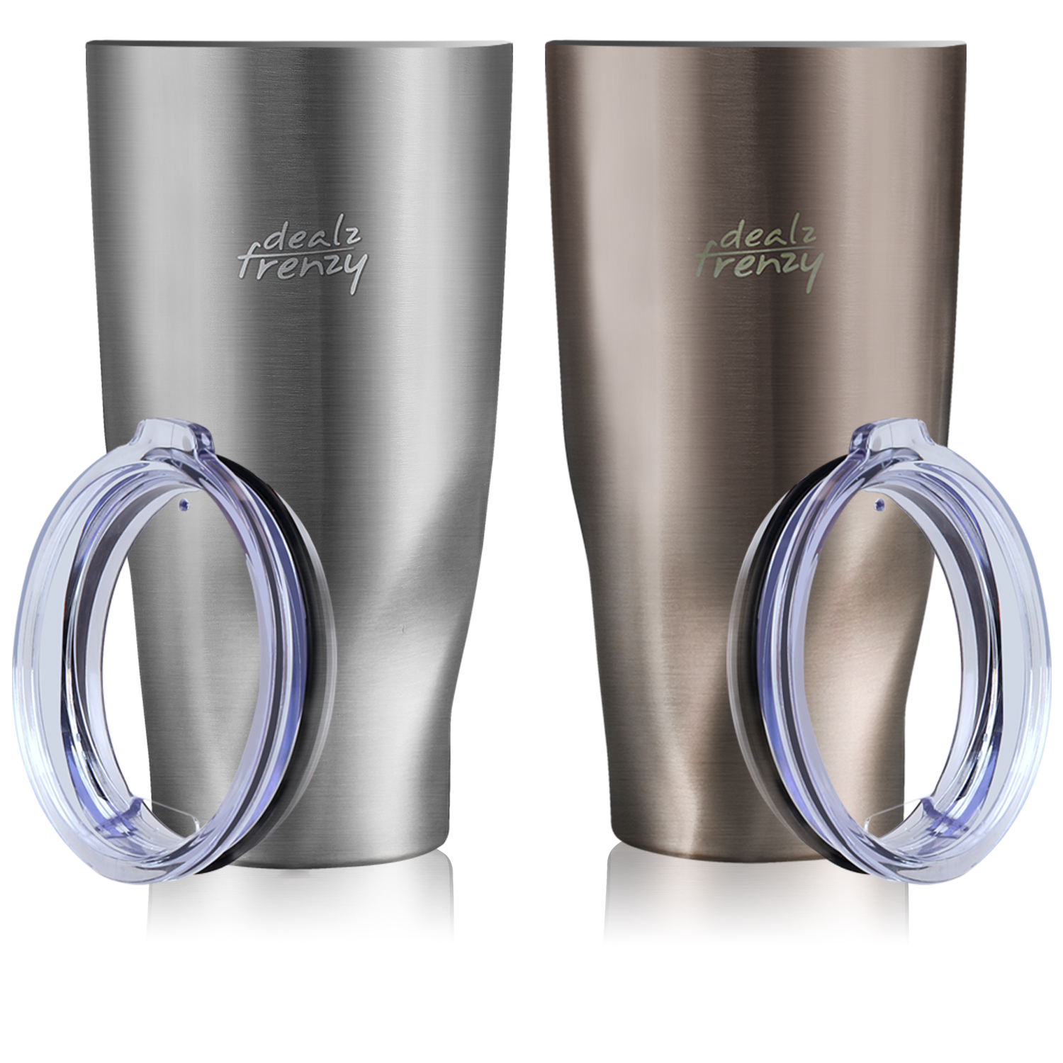New Year, New Deals! Insulated Tumbler-Double Wall Stainless Steel Wide Mouth , Only $16.99