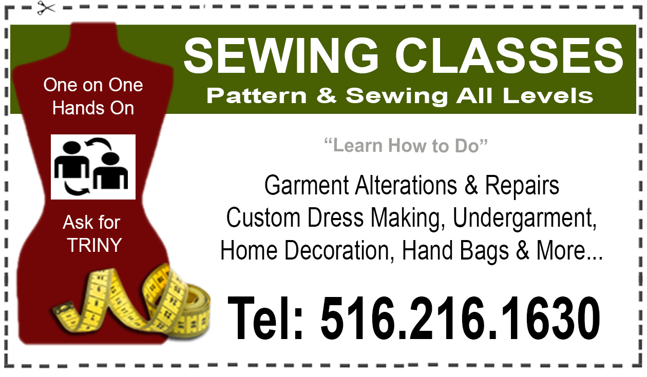 LEARN HOW TO SEW! Any level of experience. Aprenda a coser! cualquier nivel