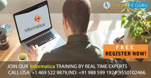 Informatica training  Informatica online training