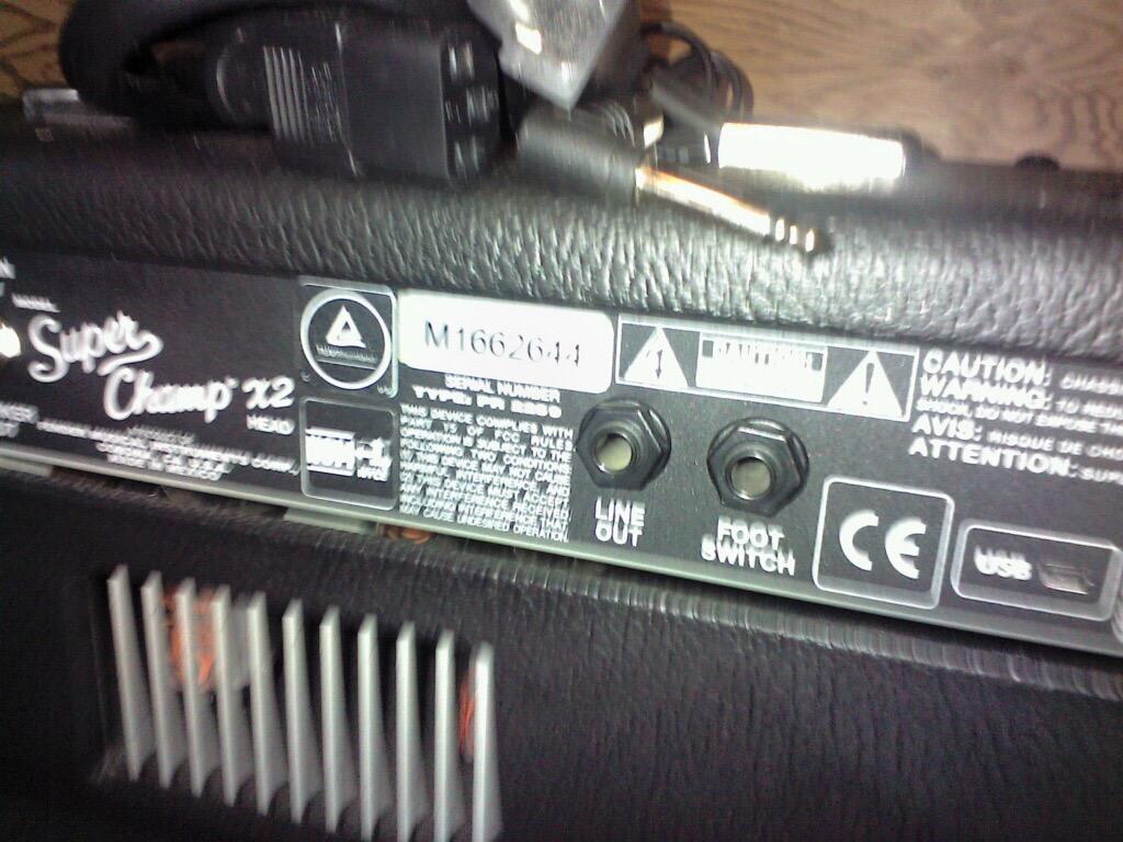 1990 Fender Stratocaster & Fender Amp + misc