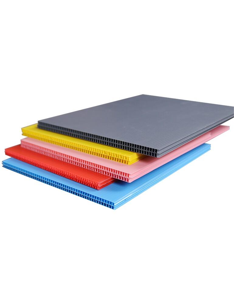 Coroplast sheet, Corflute sheet, Correx Board Corrugated Plastic Floor Protection Sheet Manufacturer